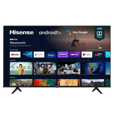 "Hisense 50"" Class- A6G Series 4K UHD Android Smart TV - 50A6G"