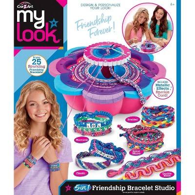 My Look 5-in-1 Friendship Bracelet Studio by Cra-Z-Art