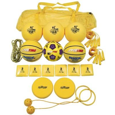 Sportime Recess pk, Yellow, Grade 1, set of 19