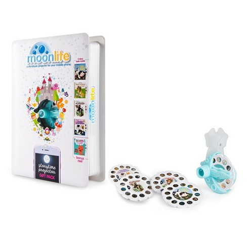 Moonlite Gift Pack - Storybook Projector for Smartphones with 5 Stories - image 1 of 10