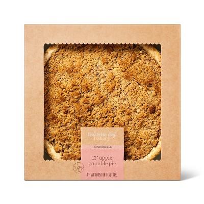 "Dutch Crumble Apple Pie - 12""/65oz - Favorite Day™"