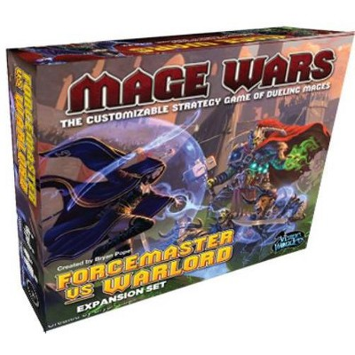 Forcemaster vs. Warlord Expansion Set (1st Printing) Board Game