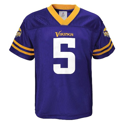 Teddy Bridgewater Minnesota Vikings Boys' Player Jersey S - image 1 of 2