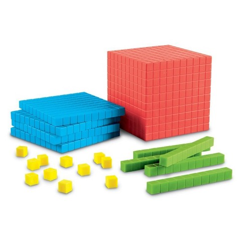 Learning Resources Brights! Base Ten Starter Kit, Math Tool, Ages 6+ - image 1 of 4