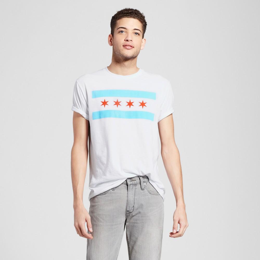 Men's Chicago The Flag T-Shirt M - White