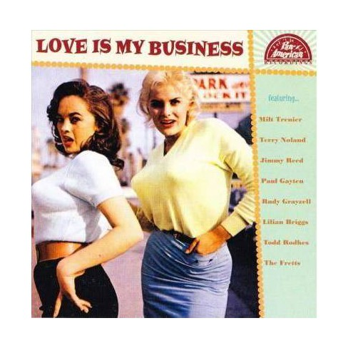 Various - Love Is My Business (CD) - image 1 of 1