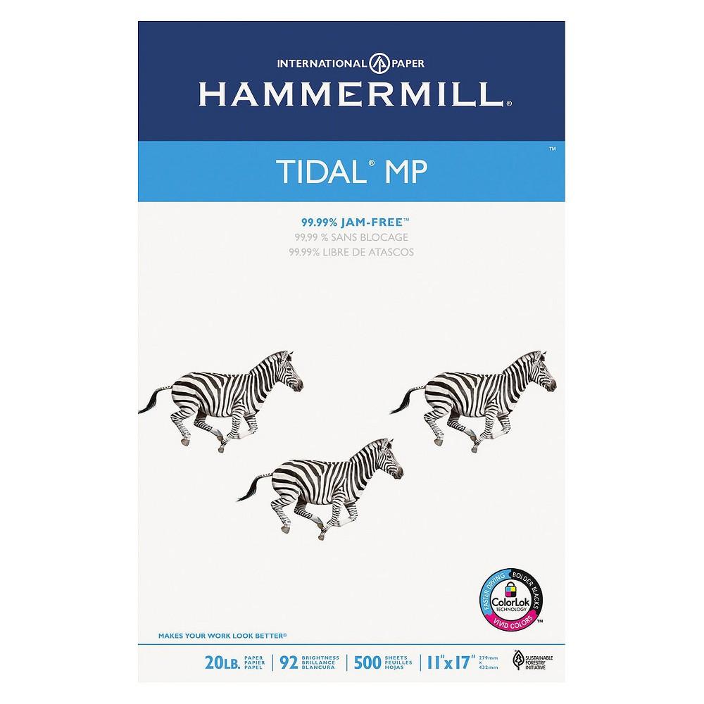 Hammermill Tidal MP Copy Paper, 92 Brightness, 20 lb - White (500 Sheets Per Ream)