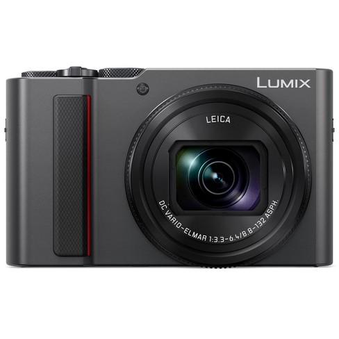 Panasonic Lumix DMC-ZS200 Digital Point & Shoot Camera, Silver - image 1 of 4