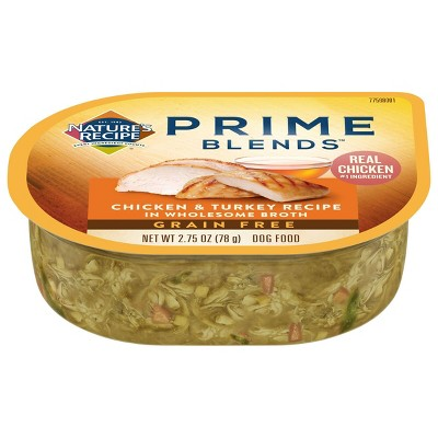 Nature's Recipe Prime Blends Wet Dog Food - 2.75oz