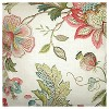 """Multi-Colored Spring Floral Throw Pillow (18""""x18"""") - The Pillow Collection - image 2 of 2"""