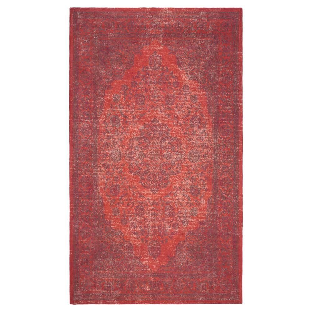 Blake Area Rug - Red (4' X 6') - Safavieh