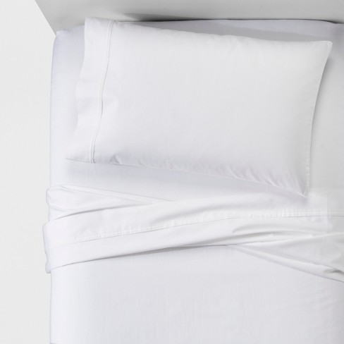 Performance Sheet Set Solids 400 Thread Count - Threshold™ - image 1 of 3