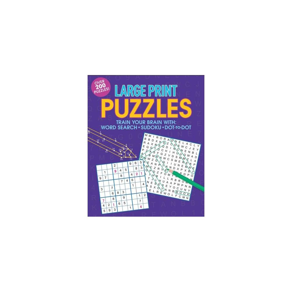 Large Print Puzzles - Lrg (Paperback)