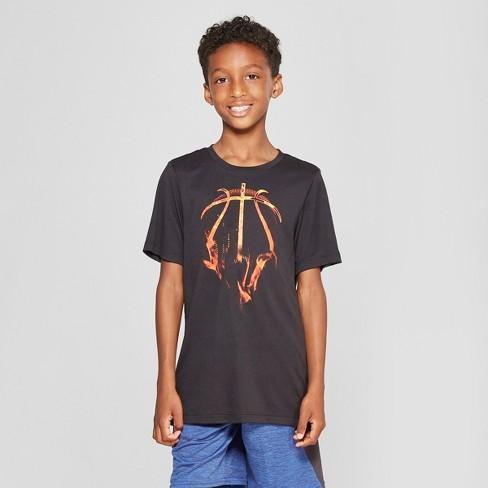 7d7bf04c5 Boys' Graphic Tech T-Shirt - C9 Champion® Black XS : Target