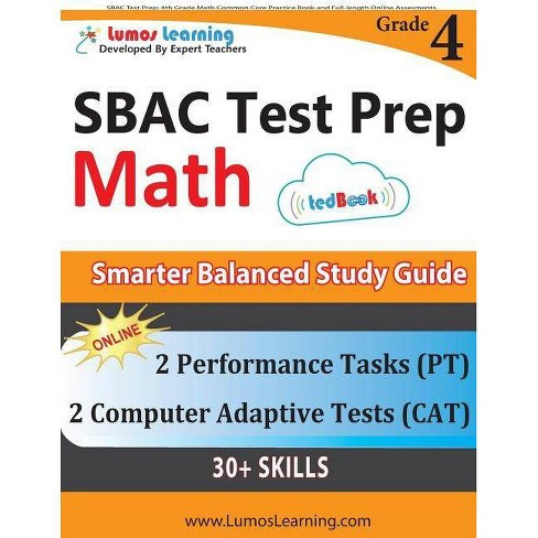 SBAC Test Prep - by  Lumos Learning (Paperback) - image 1 of 1