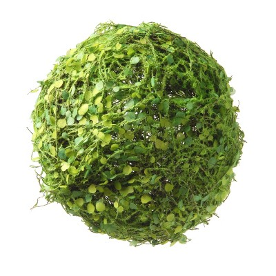 "Artificial Mini Leaves Ball 8"" - National Tree Company"