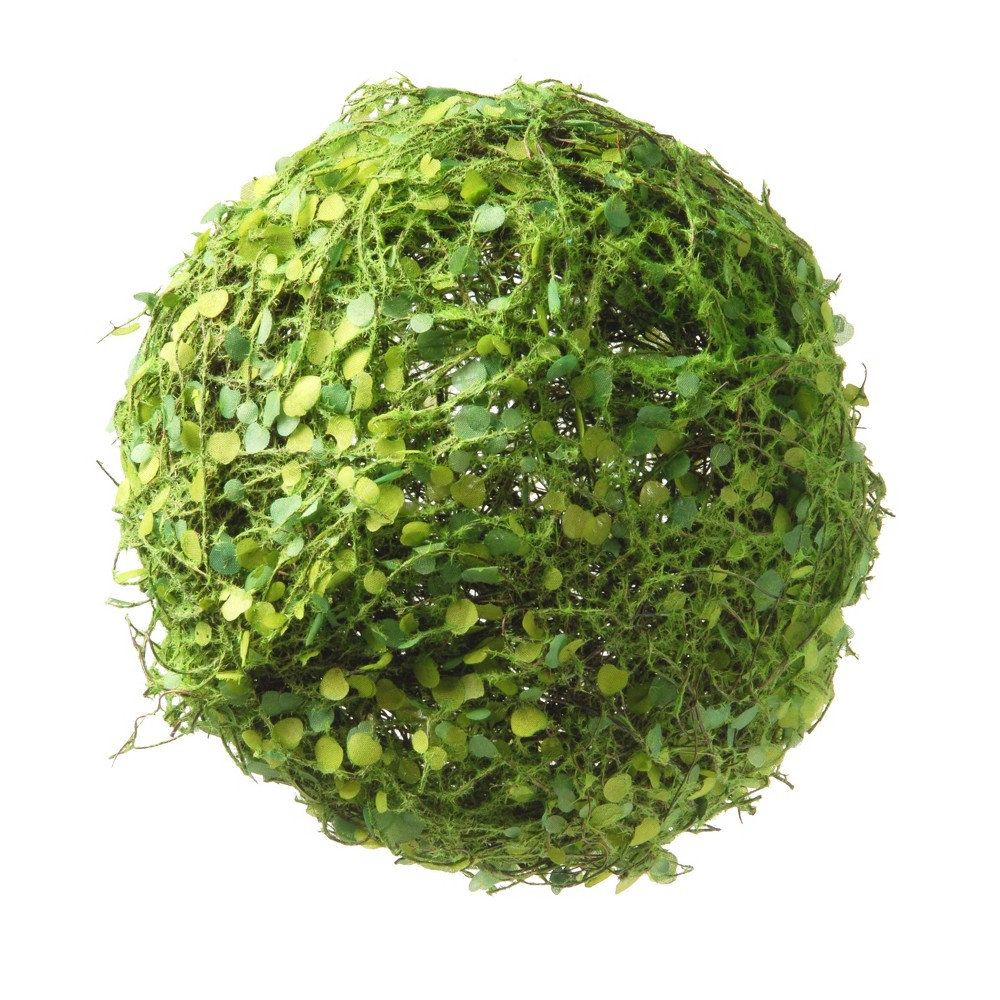 """Image of """"Artificial Mini Leaves Ball Green 8"""""""" - National Tree Company"""""""