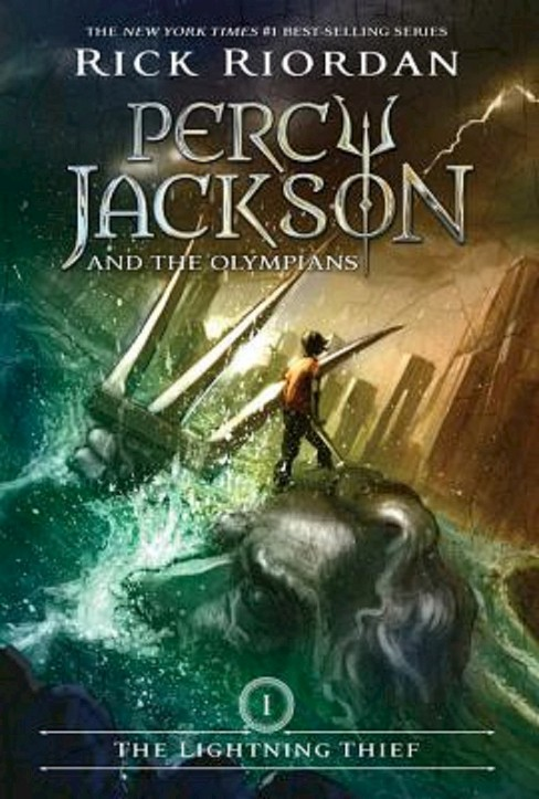 The Lightning Thief ( Percy Jackson and the Olympians) (Paperback) by Rick Riordan - image 1 of 1