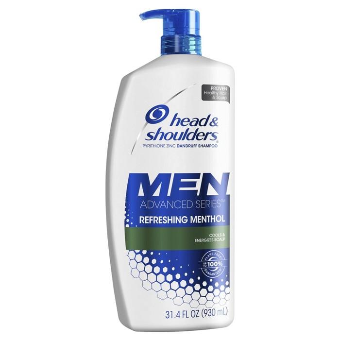 Head And Shoulders Refreshing Menthol Anti-Dandruff Shampoo - 31.4 Fl Oz : Target