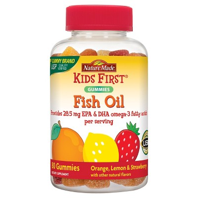 Vitamins & Supplements: Nature Made Kids First Fish Oil Gummies