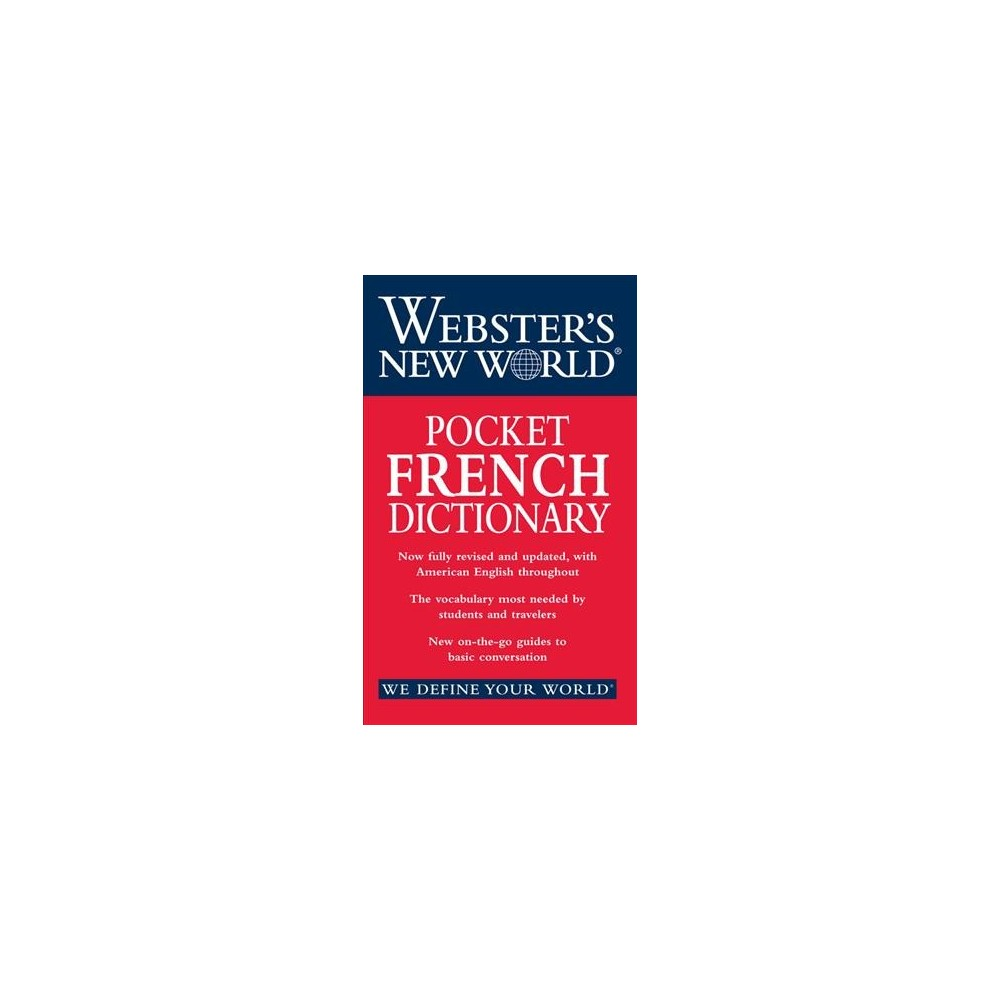 Webster's New World Pocket French Dictionary (Bilingual) (Paperback)