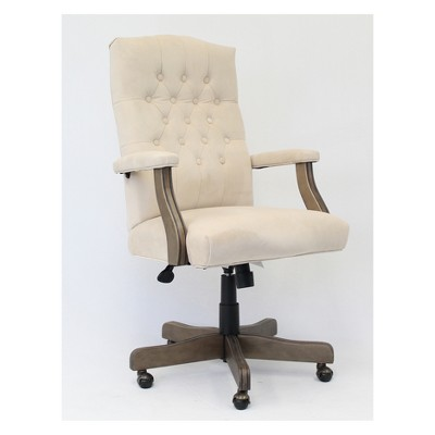 Traditional Executive Chair Beige - Boss Office Products