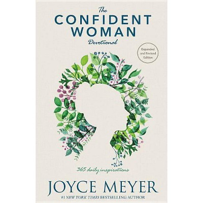 Confident Woman Devotional : 365 Daily Inspirations -  by Joyce Meyer (Hardcover)
