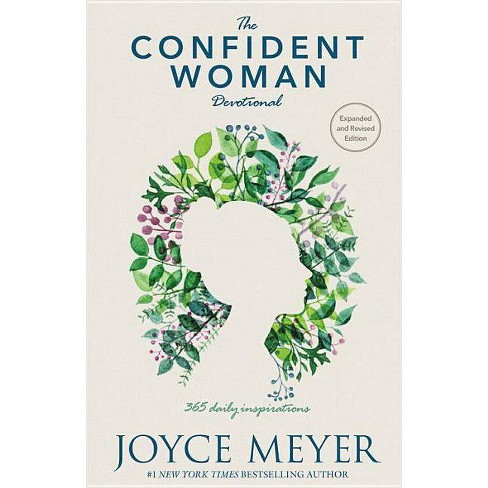 Confident Woman Devotional : 365 Daily Inspirations -  by Joyce Meyer (Hardcover) - image 1 of 1