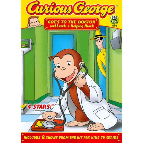 Curious George: Goes to the Doctor and Curious George Lends a Helping Hand (DVD) - image 1 of 1