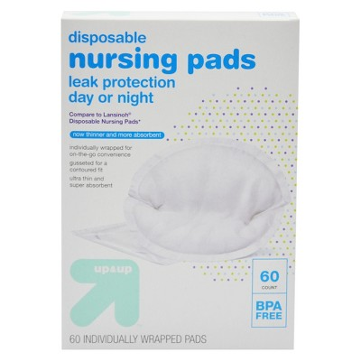 Disposable Breast Pads - 60ct - Up&Up™