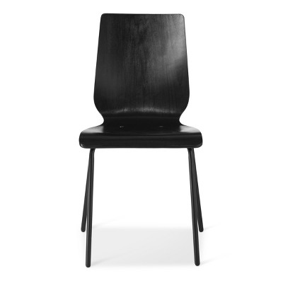 Bent Plywood Stacking Chair Black - Room Essentials™