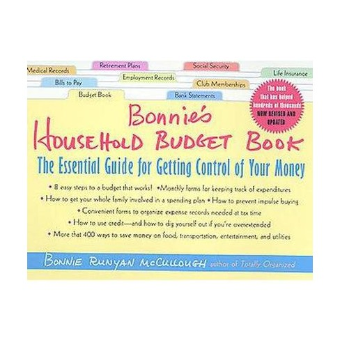 bonnie s household budget book the essential guide for getting