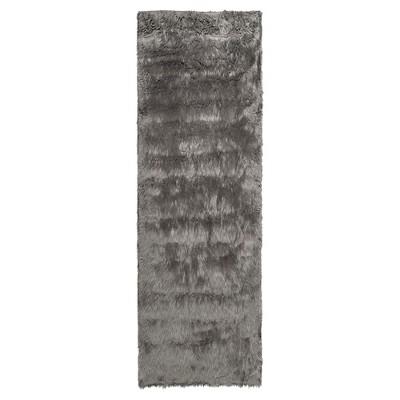 Faux Sheep Skin Rug - Gray - (2'6 X6')- Safavieh®