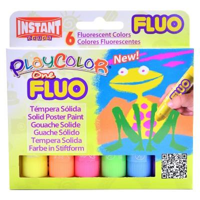 Paint Sticks Fluorescent 6ct - Playcolor