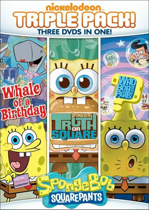 SpongeBob SquarePants: Truth or Square/Who Bob What Pants/Whale of a Birthday [3 Discs] - image 1 of 1