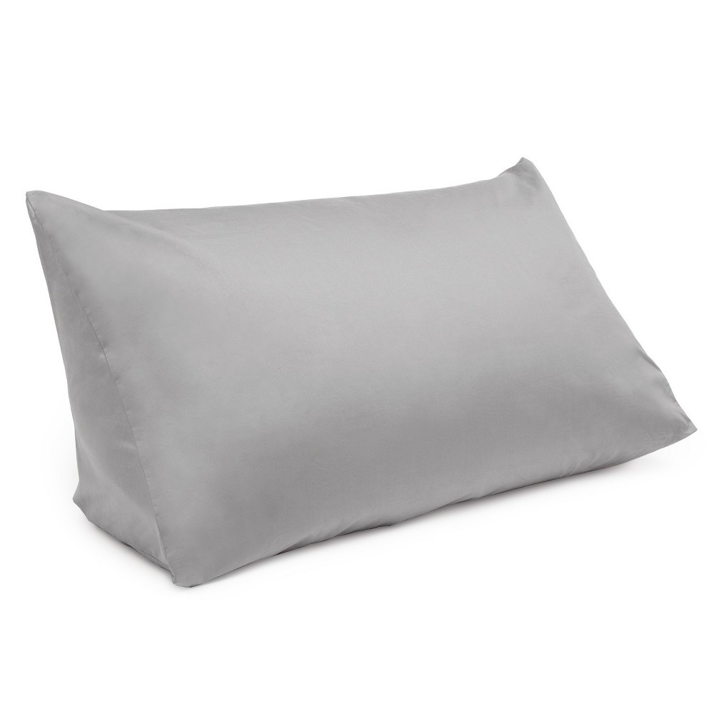 Image of Reading Wedge Pillow Cover Gray - Downlite