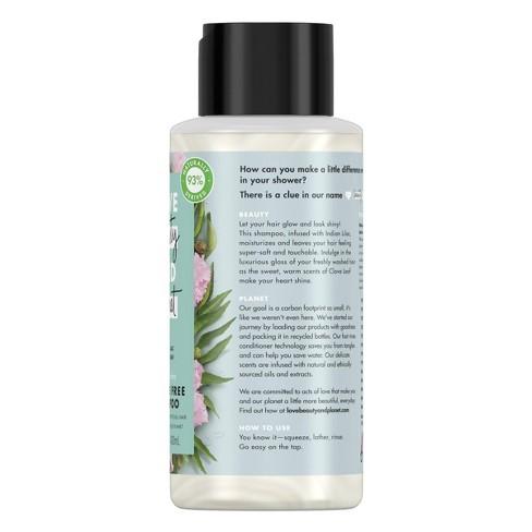 Love Beauty & Planet Indian Lilac and Clove Leaf Positively Shine Shampoo -  13 5 fl oz