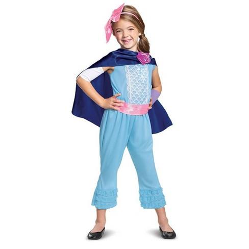Girls' Toy Story Bo Peep New Look Classic Halloween Costume - image 1 of 4