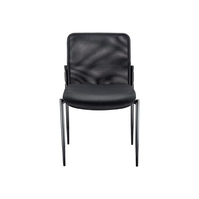 Staples Roaken Mesh Guest Chair Without Arms Black 204115 : Target