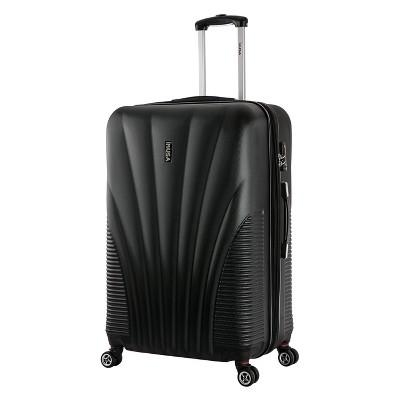 """InUSA Chicago 29"""" Hardside Spinner Suitcase - Black"""