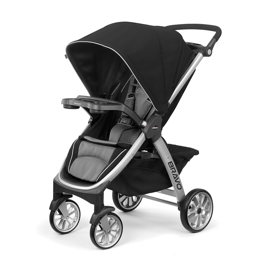 Image of Chicco Bravo Air Stroller Q Collection, Black Gray