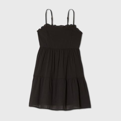 Women's Sleeveless Tiered Dress - Wild Fable™ (Regular & Plus) - image 1 of 2