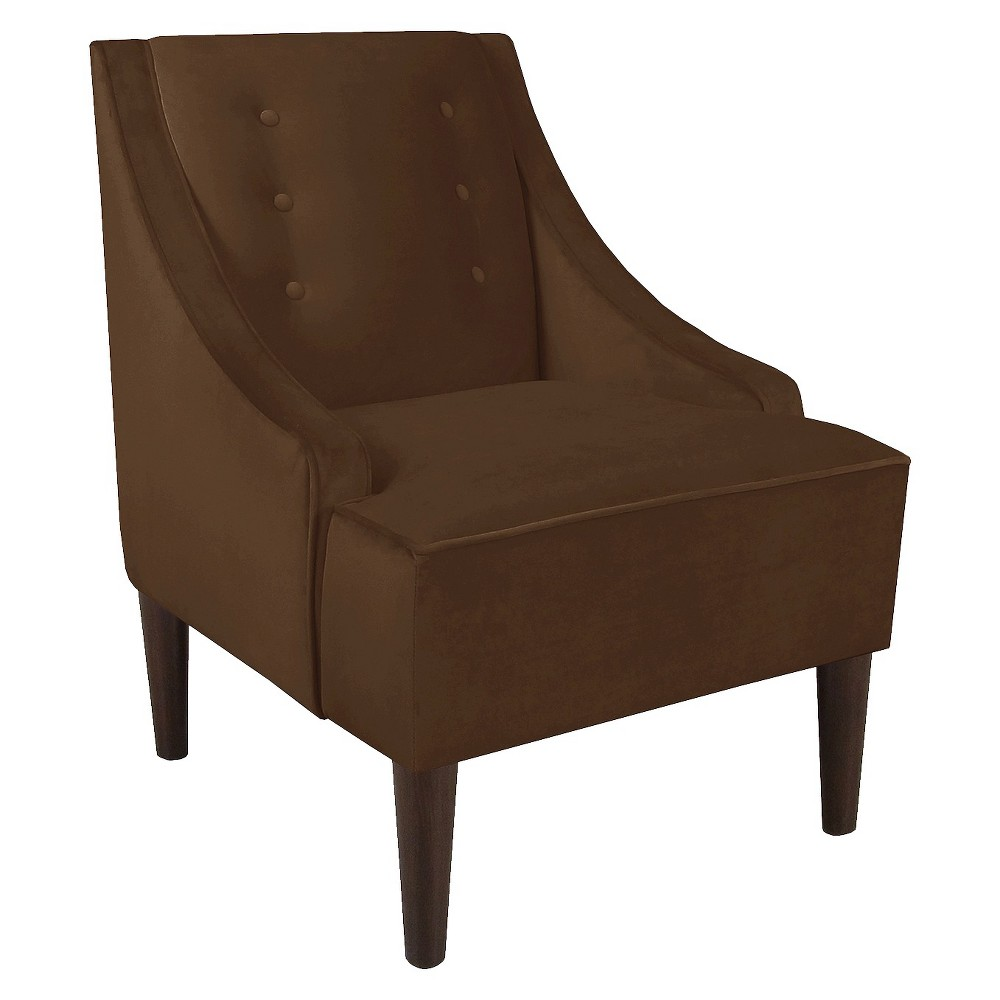 Skyline Custom Upholstered Swoop Armchair Skyline Furniture