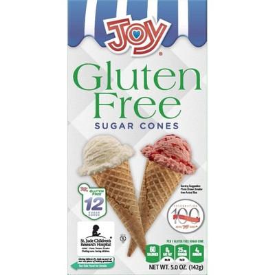 Joy Gluten Free Sugar Cones - 12ct