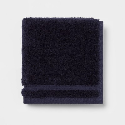 Antimicrobial Washcloth Navy - Total Fresh