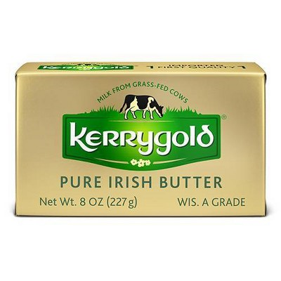 Kerrygold Grass-Fed Pure Irish Salted Butter - 8oz Foil