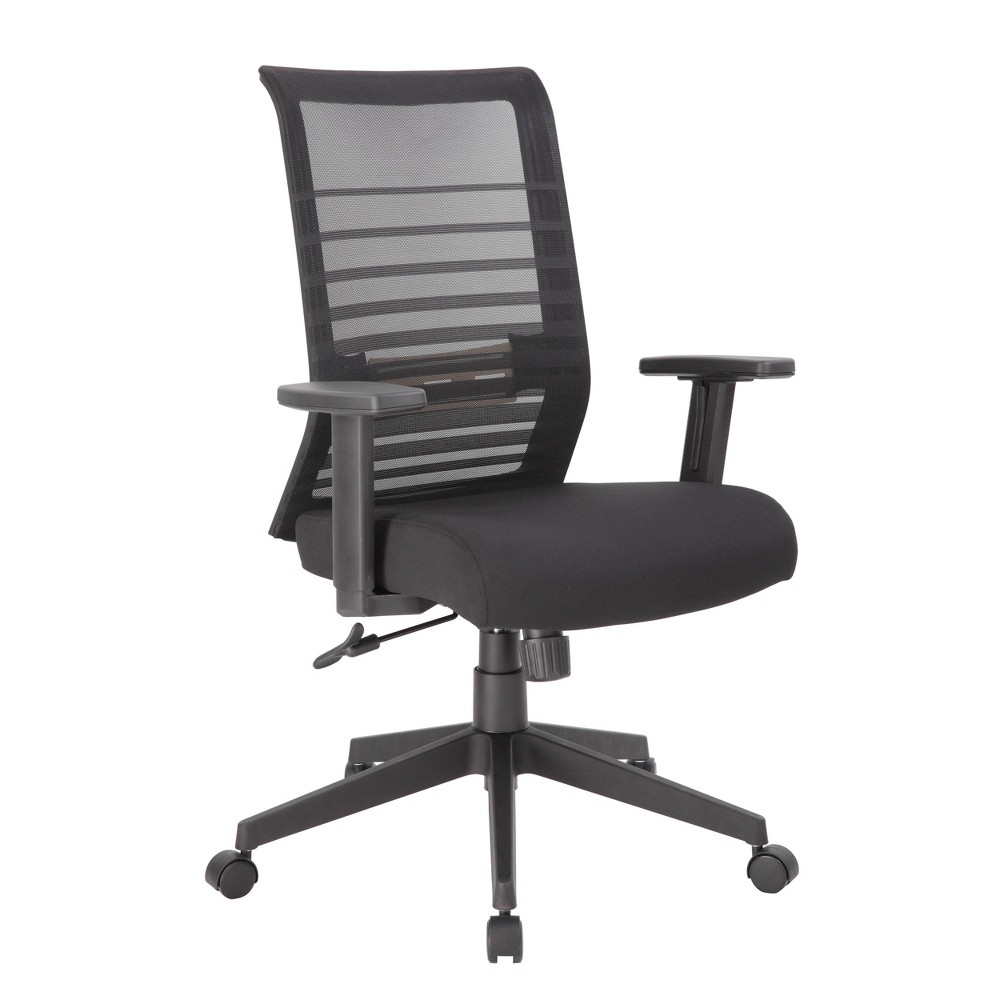 Image of Mesh Task Chair Black - Boss Office Products