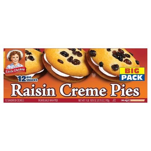 Little Debbie Raisin Creme Pies - 26.15 oz - image 1 of 1