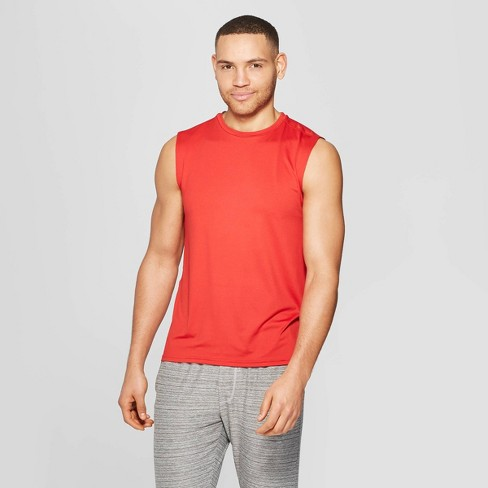 b5980e3f Men's Sleeveless Tech T-Shirt - C9 Champion® Ripe Red S : Target