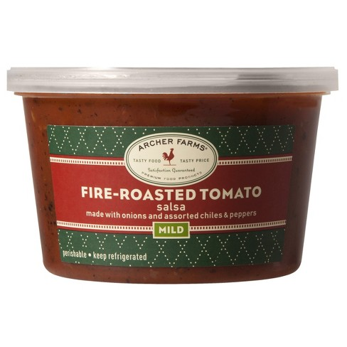 Fire Roasted Tomato Salsa 16oz - Archer Farms™ - image 1 of 1